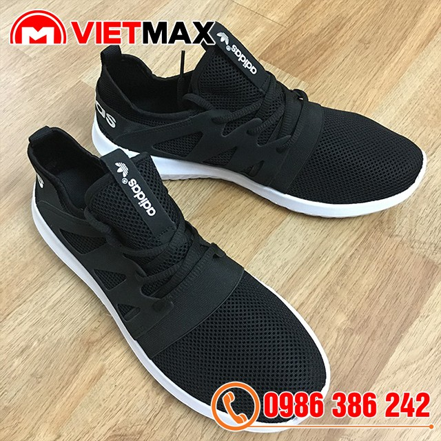 [Kèm Box] Giày Adidas Tubular Đen Trắng Nam Nữ