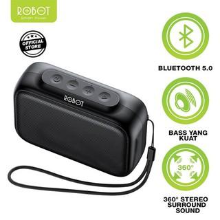 Loa Bluetooth 5.0 Robot RB100, Sạc nhanh 2H, sử dụng lên đến 10H - Hàng chính hãng - BẢO HÀNH 1 ĐỔI 1 thumbnail