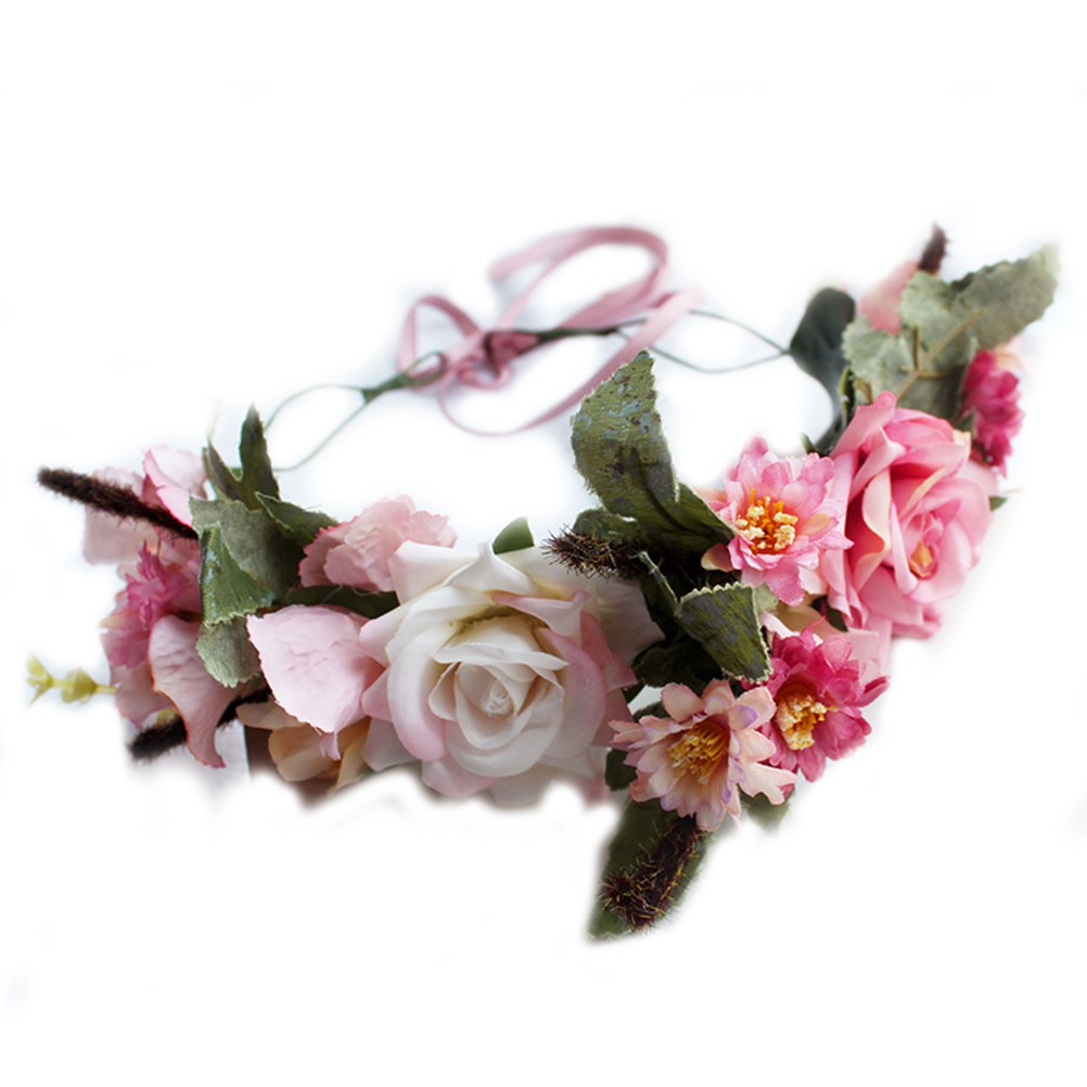 Vòng hoa đội đầu cô dâu - 14169687 , 2282697600 , 322_2282697600 , 171600 , Vong-hoa-doi-dau-co-dau-322_2282697600 , shopee.vn , Vòng hoa đội đầu cô dâu