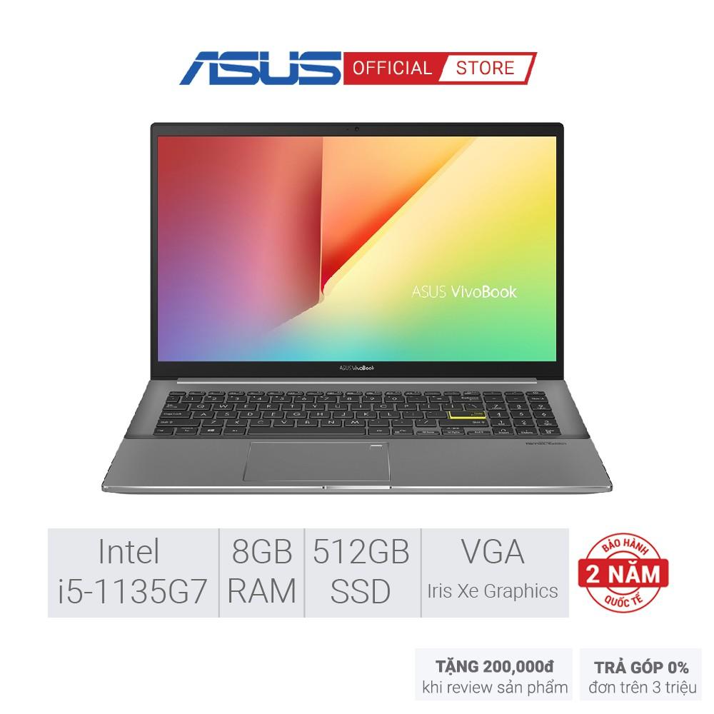 "Laptop Asus Vivobook S15 S533EQ-BQ011T | i5-1135G7 | 8GB | 512GB | 15.6"" | Win 10"