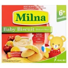 Bánh ăn dặm cho bé Milna Baby Biscuit 130g