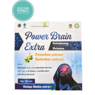 Bổ não Power Brain Extra [ Hộp 100 viên ]