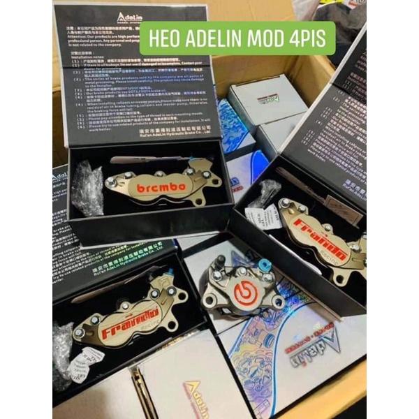 Heo Adelin 2 pis/4pis mod Brembo or Frando 1450/con,Pat full các loại xe