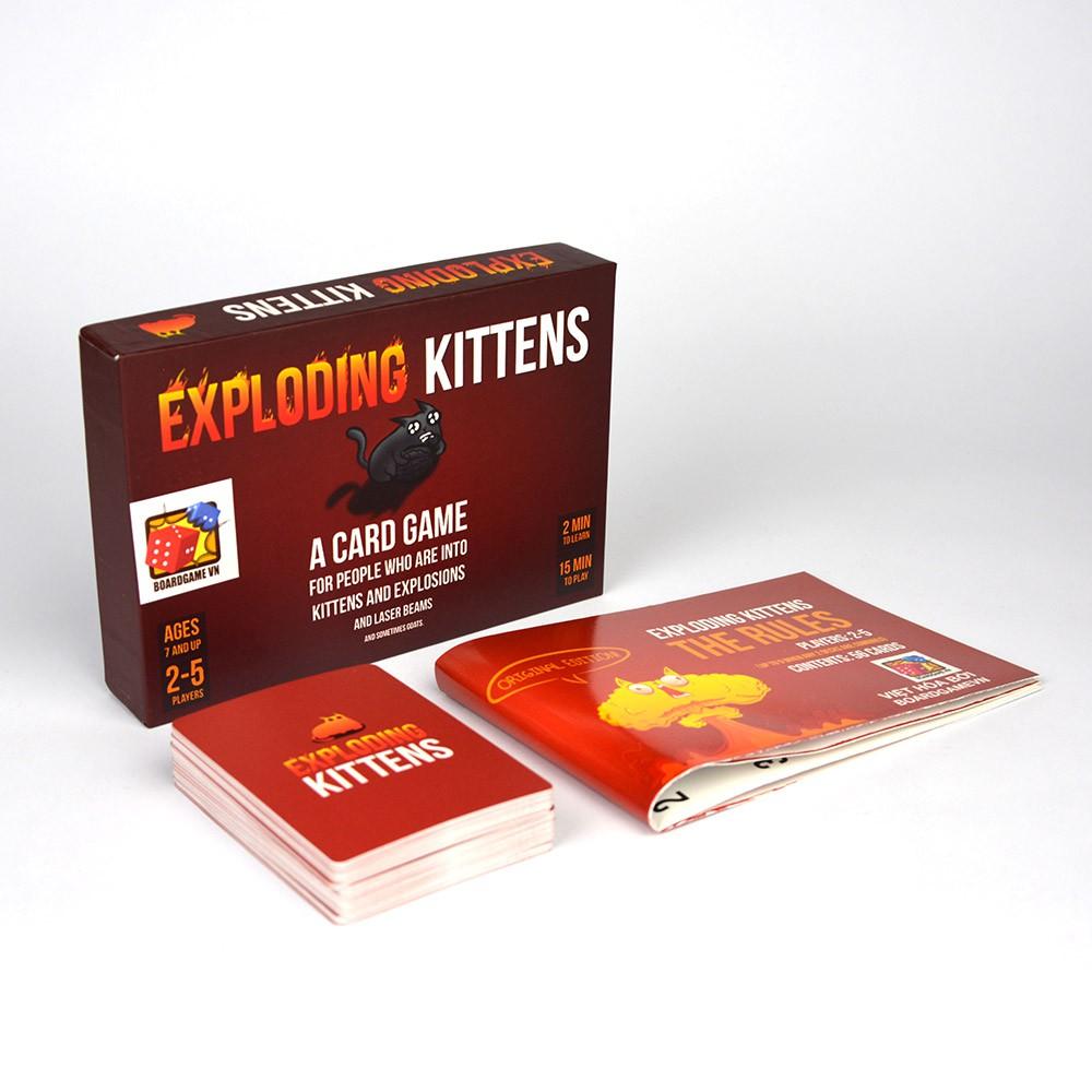 Exploding Kittens - Mèo Nổ phiên bản...