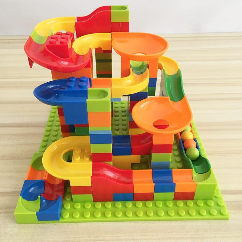 Đồ chơi xếp hình lắp ráp LEGO cầu trượt thả bi