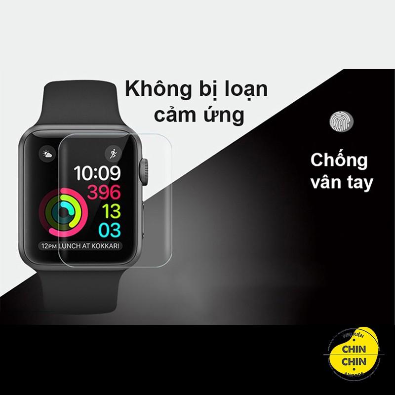 Miếng Dán Skin PPF Màn Hình Cho Apple Watch Chống Xước Màn Hình Tự Phục Hồi Vết Xước Đủ Size 38mm 40mm 42mm 44mm