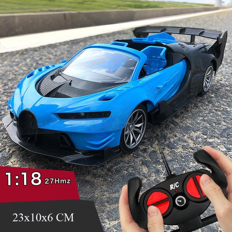[1:18 – 23CM] [Có đèn Led] Ô tô thể thao điều khiển từ xa, siêu xe điều khiển từ xa Tokyo Driff