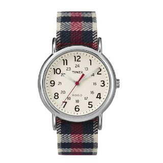 Đồng hồ unisex Timex Weekender - TW2P89600 Sọc Caro đỏ - Chính Hãng thumbnail