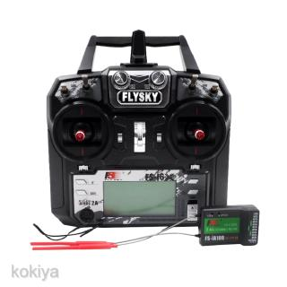 Flysky FS-i6X 2.4G 6-Channel AFHDS 2A Transmitter with FS-iA10B Receiver for RC Quadcopter Multirotor Drone Airplane