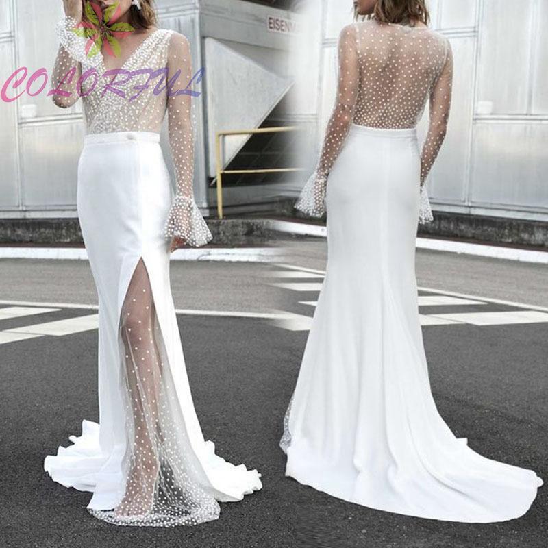 Đầm dạ hội dáng ôm dài tay thiết kế cổ chữ V xuyên thấu gợi cảm thời trang cho nữ - 23029733 , 2849877002 , 322_2849877002 , 498200 , Dam-da-hoi-dang-om-dai-tay-thiet-ke-co-chu-V-xuyen-thau-goi-cam-thoi-trang-cho-nu-322_2849877002 , shopee.vn , Đầm dạ hội dáng ôm dài tay thiết kế cổ chữ V xuyên thấu gợi cảm thời trang cho nữ