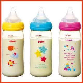 Bình Sữa FREESHIP Bình Sữa Pigeon Nội Địa Nhật Cho Bé 160ml 240ml ( Hàng Chính Hãng )