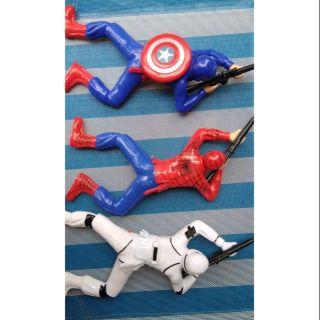 Tổng hợp Lính bò captain America- người nhện- starwar—battman- iron man, combat team