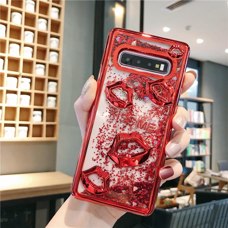 Cover P30 Huawei Soft Lips KISS P20 Nova3i Quicksand Nova 4E Mate10 Lite Case TPU