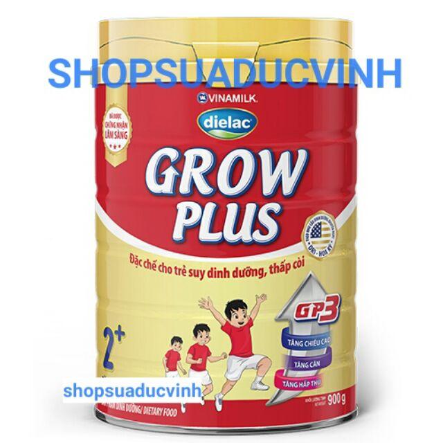(TKB0718W2B giảm 3% tối đa 20k) Sữa bột Vinamilk Grow Plus 2+ GP3 900g date 03/2020