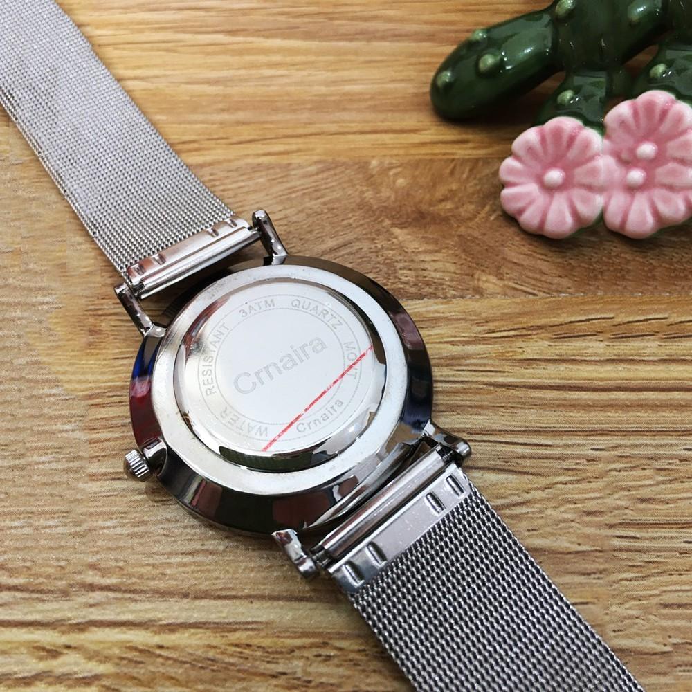 [SALE HOT] Đồng hồ nam CRNAIRA chính hãng, kiểu dáng hiện đại, siêu mỏng sang trọng