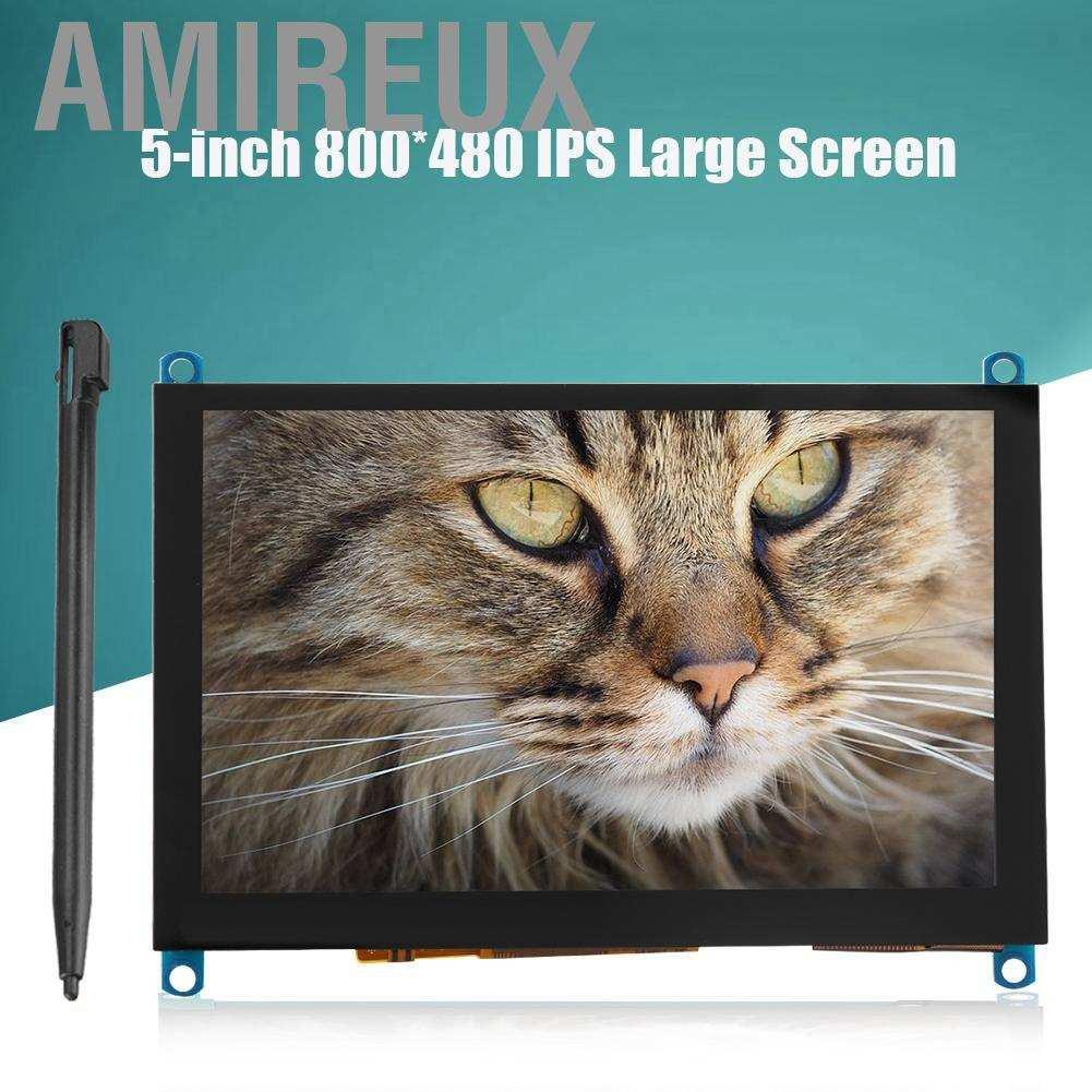 Màn Hình Cảm Ứng Amirex 5-inch Hdmi Lcd (H) 800x480 Cho Raspberry Pi