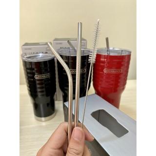 Ống Hút Inox 304 Cong, Thẳng, Cọ Rửa Ổng Hút (Bán Lẻ)
