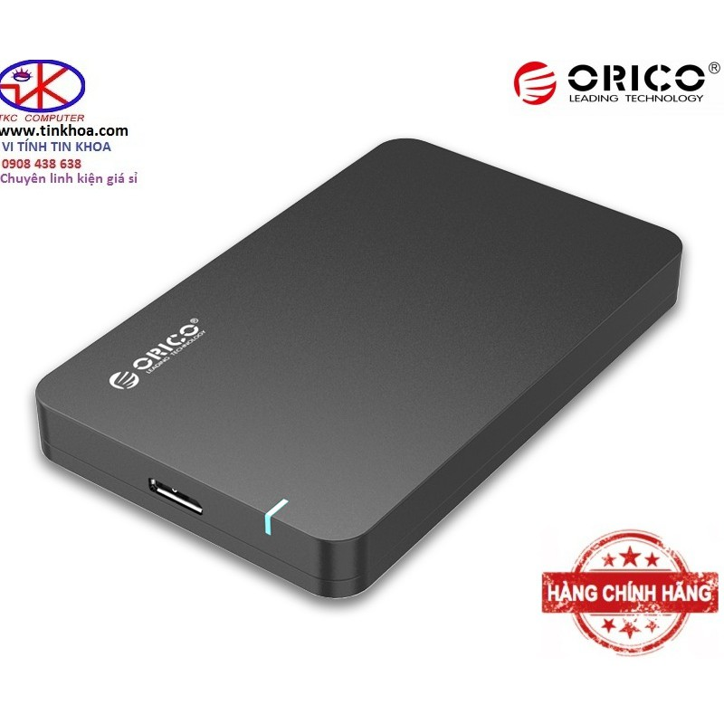 Hộp đựng ổ cứng USB 3.0 ORICO 2569S3-BK ĐEN CHÍNH HÃNG PHÂN PHỐI