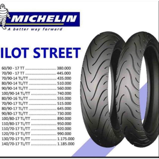 Lốp MICHELIN 140/70-17 PILOT STREET