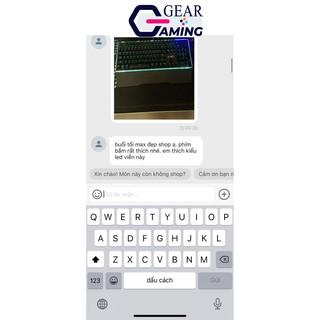 Bàn phím Gaming G-Net K88 – Led RGB – Blue Switch – Switch quang học – Màu đen – Bảo hành 12 tháng [ Hàng chính hãng ]
