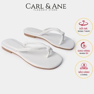 Carl & Ane - Dép xo ngo n nư thơ i trang siêu mê m êm chân ma u tră ng - DC006 thumbnail
