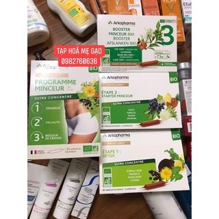(Có bill ở cuối) Thải độc giảm cân Detox 123 Arkopharma Pháp thumbnail