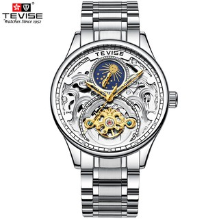 Đồng hồ Cơ Nam TEVISE DYLAN - Dây Thép Đúc Đặt - Quý Ông Thời Thượng