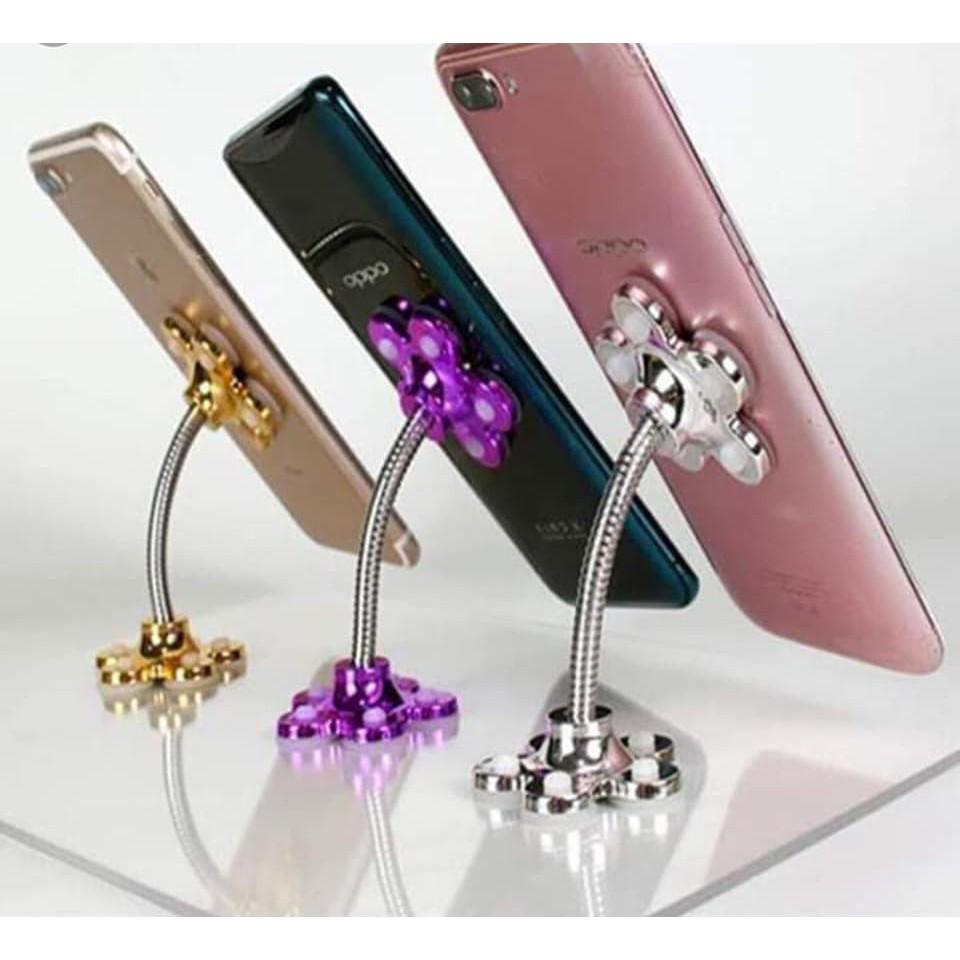 [RẺ NHƯ BÁN BUÔN] Kẹp điện thoại hút chân không hình hoa vô cùng tiện dụng