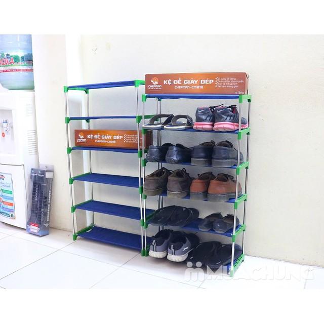 Kệ để giày khung inox Chefman Hàng Việt Nam:Loại 4 tầng - 3367414 , 1061497107 , 322_1061497107 , 169000 , Ke-de-giay-khung-inox-Chefman-Hang-Viet-NamLoai-4-tang-322_1061497107 , shopee.vn , Kệ để giày khung inox Chefman Hàng Việt Nam:Loại 4 tầng