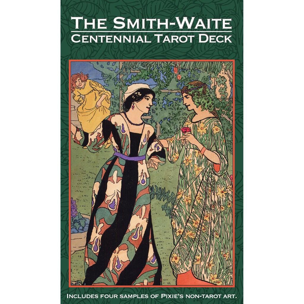 Bài Tarot Smith Waite Centennial Edition Chất Lượng Cao ( Có kèm sách hướng dẫn và túi đựng bài) B1991