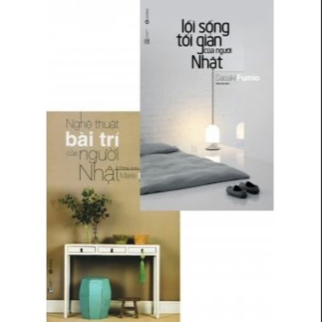 sách- Combo 2 cuốn nghệ thuật bài trí, lối sống tối giản của người nhật - 3448935 , 809111541 , 322_809111541 , 85000 , sach-Combo-2-cuon-nghe-thuat-bai-tri-loi-song-toi-gian-cua-nguoi-nhat-322_809111541 , shopee.vn , sách- Combo 2 cuốn nghệ thuật bài trí, lối sống tối giản của người nhật
