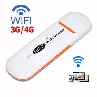 USB Dcom 3G 4G Phát Wifi HSPA Dùng Đa Mạng - Xài Cực Đơn Giản Dùng Mạng Ổn Đinh TẶNG SIM 4G VINAPHONE thumbnail