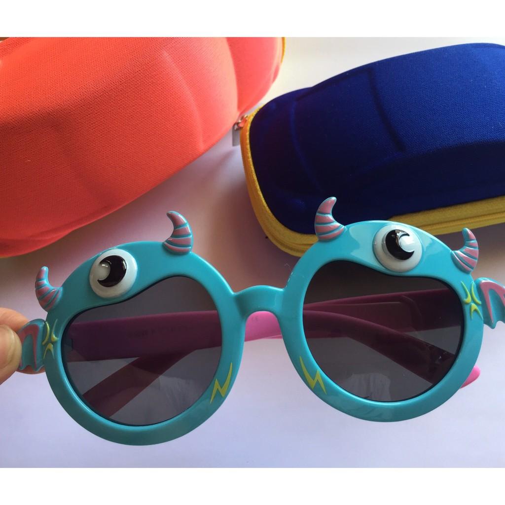 Kính mát trẻ em gọng dẻo siêu bền mắt chống tia UV
