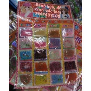 Bảng hạt sâu vòng (20 túi)