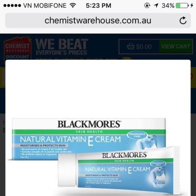 Vitamin E Blackmores