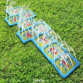 Accessories Children Courtyard Outdoor Hopscotch Sprinkle Water Game Mat