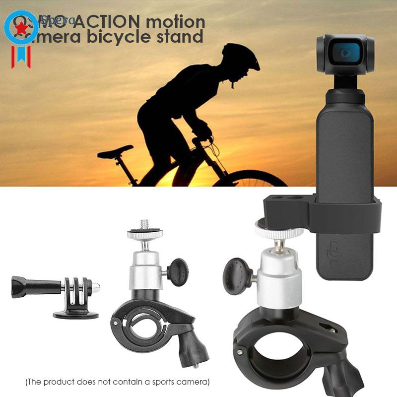 Bicycle Stand Accesssory Parts Bracket Bicycle Mount OSMO ACTION Expansion Bike Mount Clamp