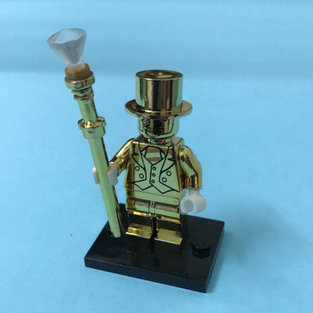 Minifigure nhân vật Mr Gold