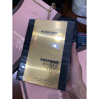 Nước Hoa Unisex Al Haramain Amber Oud Gold Edition EDP 120ml full seal
