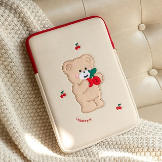 Fashion cute cartoon ipad pouch 9.7 10.2 10.5 10.8 10.9 pro 11 inch air4 tablet protective sleeve case inner liner bag