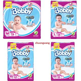(Chọn quà) Bỉm dán bobby XS36 S56 L68 M76 XL62 (shop chuongvang) thumbnail