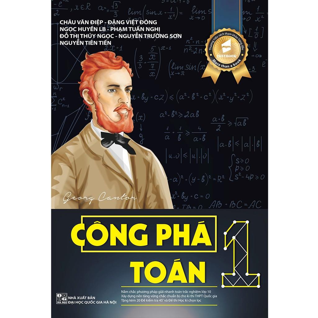 sách - [luyện thi THPT quốc gia] Công Phá Toán 1