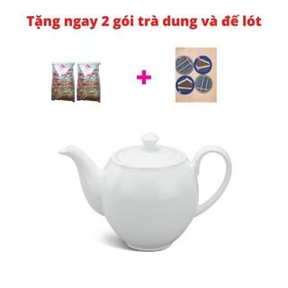 Bình trà Camellia Trắng với 3 dung tích 0.5 L, 0.8 L, 1.1 L thumbnail