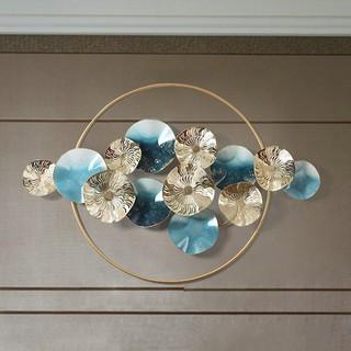 Phù điêu tròn nghệ thuật gắn tường hiện đại đồ phong thủy trang trí nội thất phòng khách phòng ngủ nhà cửa khách sạn