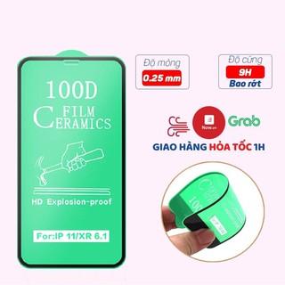 Cường lực iphone Dẻo 100D Full màn - Cường lực Dẻo 100D Chống Mẻ Vỡ Viền thumbnail