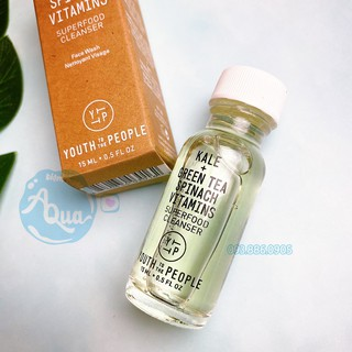[15ml]SRM Youth To The People Superfood Antioxidant Cleanser Sữa Rửa Mặt