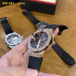 Đồng hồ nam nữ Hublot - đồng hồ unisex cặp đôi dây cao su có bảo hành 12tháng - Shop228 thumbnail