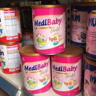 MediBaby Gold (0-12 tháng) 900g
