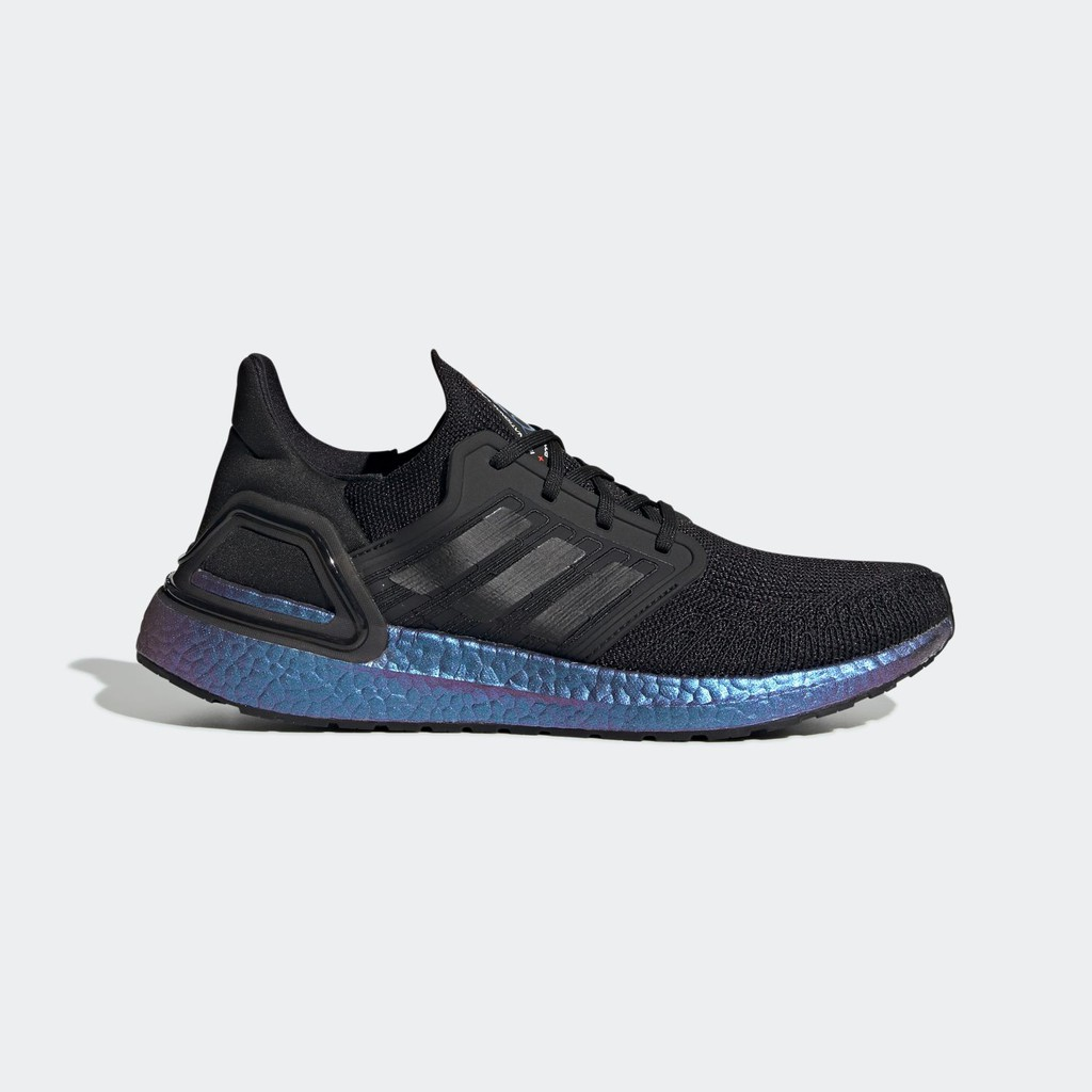 "(100% chính hãng) Giày Adidas Ultraboost 20 ISS US National Lab ""Core Black/Boost Blue Violet"""