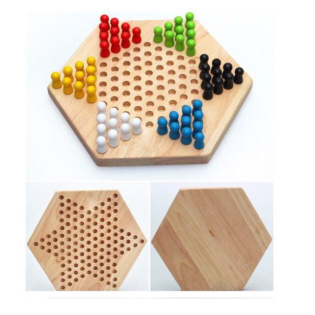 Cờ nhảy loại bàn gỗ [HÀNG CÓ SẴN]